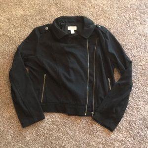 Black Loft Moto Jacket